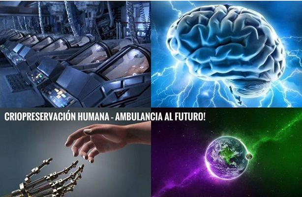 """EVENTO DE LA SOCIEDAD CRIÓNICA: """"CRIOPRESERVACIÓN HUMANA – AMBULANCIA AL FUTURO"""". 2017"""